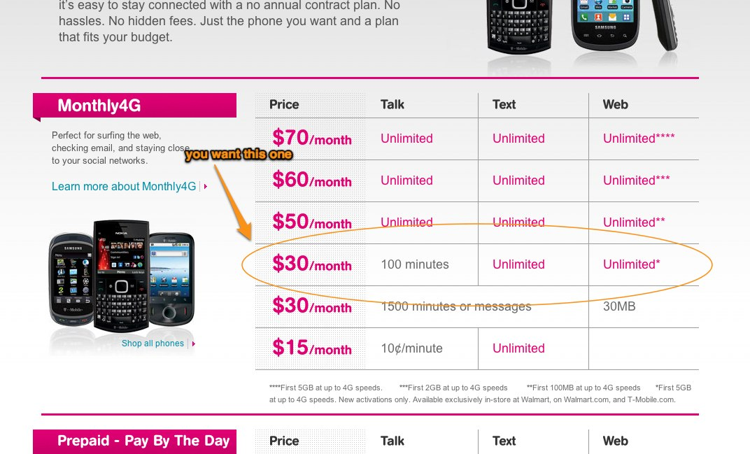 "How to get the hidden $30/month ""Walmart"" T-mobile data plan and use Ice Cream Sandwich on a Galaxy Nexus"